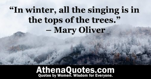 Quotes By Women About Nature Athena Quotes